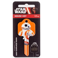 Licensed Keys - BB8 Silca Ref UL054