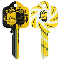 Licensed Keys - Minion Spies - Silca Ref UL054