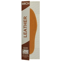 Birch Leather Insoles Ladies Size 5