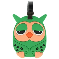 Birch Luggage Tag Owl