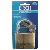 Birch Brass Padlock 63mm