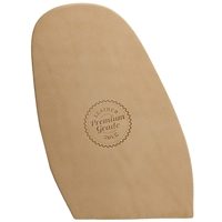 Premium Grade Leather Half Soles - 4.5mm Size 14