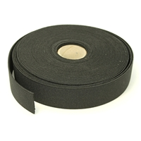 Flat Elastic 15mm Black, 5/8 Inch