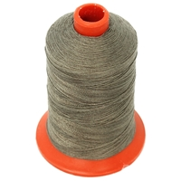 NIKI Polester Thread With Cotton Finish 500m Grey