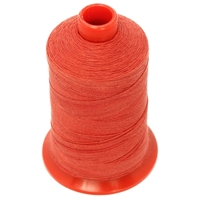 NIKI Polester Thread With Cotton Finish 500m Red