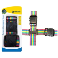 Travel Blue Double Cross Luggage Strap 2 x 73 Inch