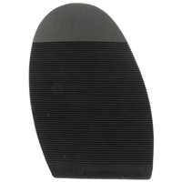 Executive Ribbed Stick on Soles, Size N5 Gents XL Black
