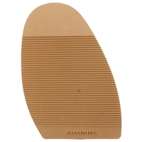 Executive Ribbed Stick on Soles, Size N2 Ladies Tan