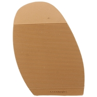 Executive Ribbed Stick on Soles, Size N5 Gents XL Tan