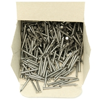 Serrated Heel Nails 26mm (1.0 Inch)