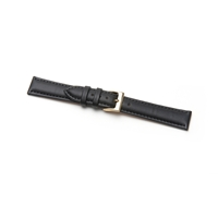 Birch  Economy Watchstraps Padded Black 22mm. Code B