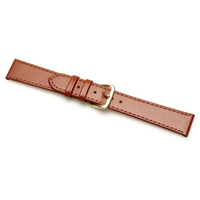 Birch Leather Watchstraps Buffalo Grain Tan 14mm Code C