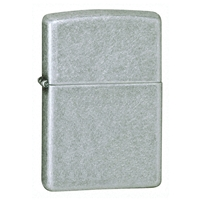 Zippo Antique Silver Plate Lighter Regular