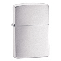 Zippo Brushed Chrome Lighter Armor