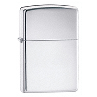 Zippo High Polished Chrome Lighter Armor