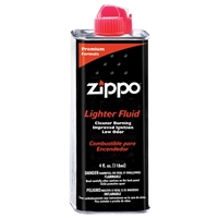 Zippo Lighter Fluid 4oz Tins (24 Per Box)