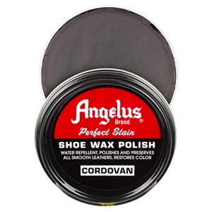 Angelus Perfect Stain Wax Shoe Polish 60ml Cordovan