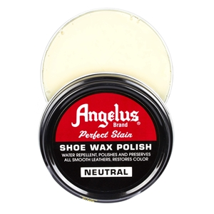 Angelus Perfect Stain Wax Shoe Polish 60ml Neutral