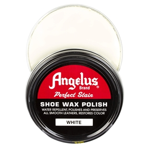 Angelus Perfect Stain Wax Shoe Polish 60ml White