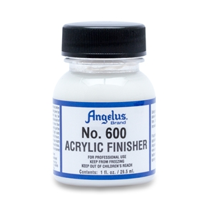 Angelus Acrylic Finisher 600 Standard Gloss Finish. I fl oz/30ml Bottle