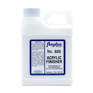 Angelus Acrylic Finisher 600 Standard Gloss Finish. 1 Pint/473ml