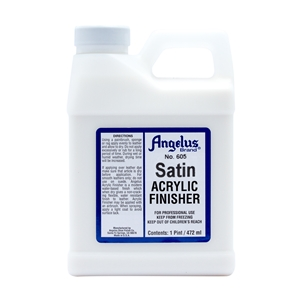 Angelus Acrylic Finisher 605 Satin Finish. 1 Pint/473ml
