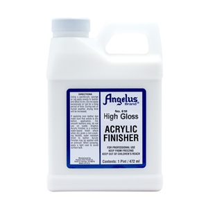 Angelus Acrylic Finisher 610 High Gloss Hard Finish. 1 Pint/473ml