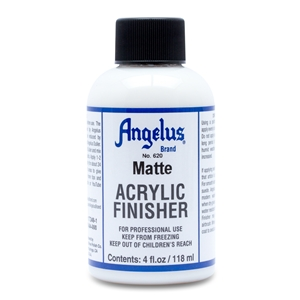 Angelus Acrylic Finisher 620 Matt Finish. 4 fl oz/118ml Bottle