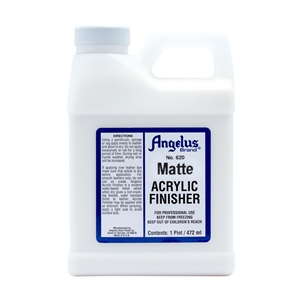 Angelus Acrylic Finisher 620 Matt Finish. 1 Pint/473ml