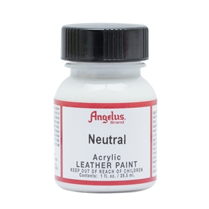 Angelus Acrylic Leather Paint 1 fl oz/30ml Bottle. Neutral 004