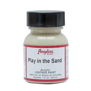 Angelus Acrylic Leather Paint 1 fl oz/30ml Bottle. Play in the Sand 262