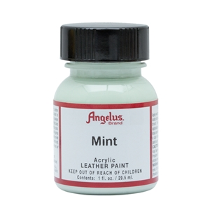 Angelus Acrylic Leather Paint 1 fl oz/30ml Bottle. Mint 269