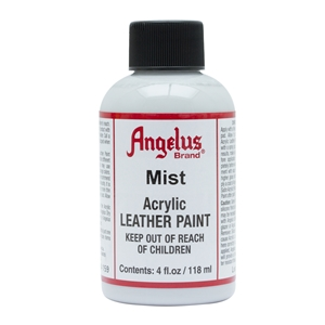 Angelus Acrylic Leather Paint 4 fl oz/118ml Bottle. Mist 159