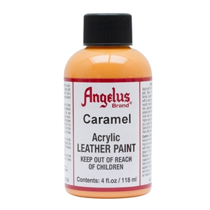 Angelus Acrylic Leather Paint 4 fl oz/118ml Bottle. Caramel 194