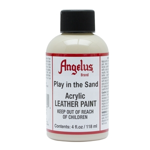 Angelus Acrylic Leather Paint 4 fl oz/118ml Bottle. Play in the Sand 262