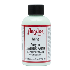 Angelus Acrylic Leather Paint 4 fl oz/118ml Bottle. Mint 269