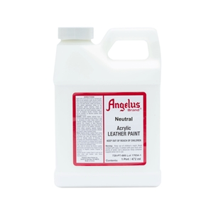 Angelus Acrylic Leather Paint Pint/473ml Bottle. Neutral 004