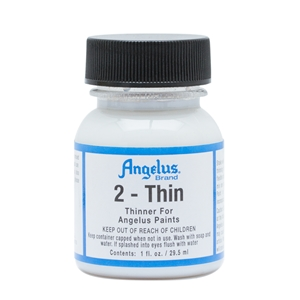 Angelus 2-Thin Thinners for Reducing Viscosity. 1 fl oz/30ml Bottle