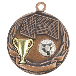 D32BAGG 50mm Football Cup Medal