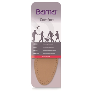 Bama Exquisit Leather Insoles, Gents Size 8, Euro 42
