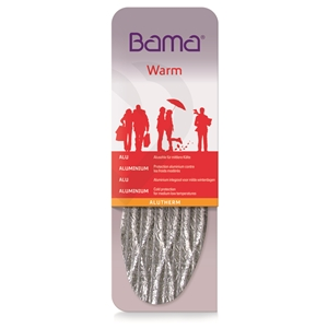 Bama Alu Therm Insoles, Gents Size 7, Euro 41