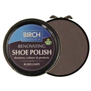 Birch Renovating Polish 50ml Burgundy