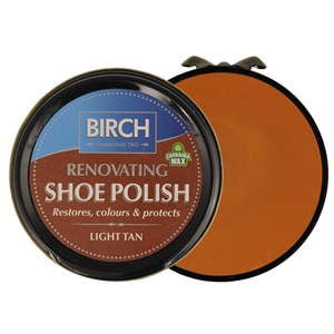 Birch Renovating Polish 50ml Light Tan