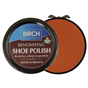 Birch Renovating Polish 50ml Medium Brown