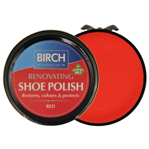 Birch Renovating Polish 50ml Red