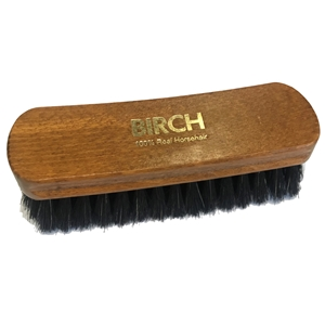 BIRCH Horsehair Brushes Large Black