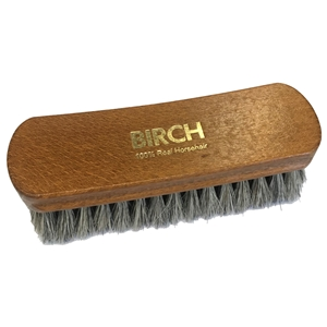 BIRCH Horsehair Brushes Large Grey