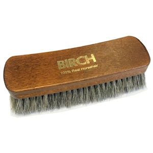 BIRCH MAXI Horsehair Brushes Ex Large Grey