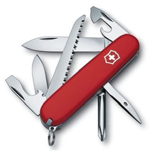 Swiss Army Knife Hiker, Red