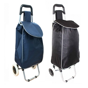 Borderline Shopping Trolley ST06 Plain Black or Blue